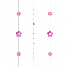 Balloon Tails - Flowers Balloon Tail (1.82m) 1pc